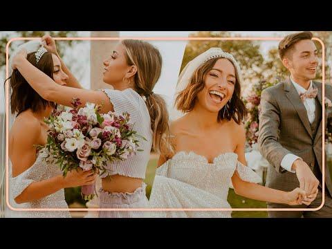 Bailey & Asa GET MARRIED!   Behind the Scenes BTS