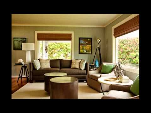 living room color schemes grey couch wall mirror height cozy minimalist - youtube