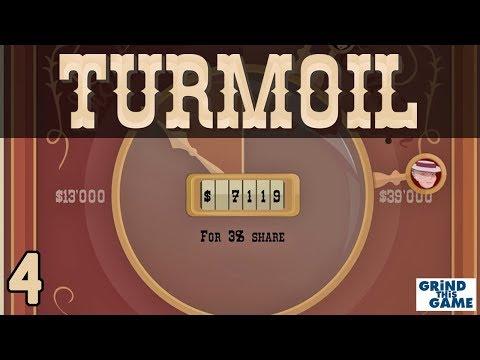 TURMOIL #4 - Oil Drilling Game - STOCK AUCTION? - Desert Biome