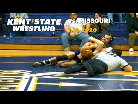 Kent State Wrestling Vs. Missouri 1.19.2020
