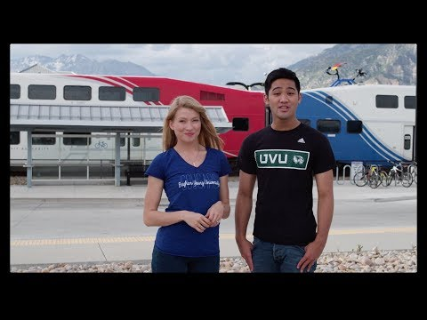 Utah Valley University and UTA UVX