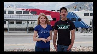 Utah Valley University and UTA UVX