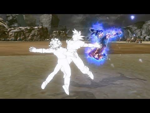 Ultra Instinct Goku Interrupting Transformations - Dragon Ball Xenoverse 2 Mods