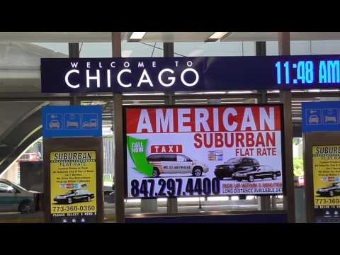 How to: Domestic Arrivals Terminal 1 Chicago O'Hare Airport