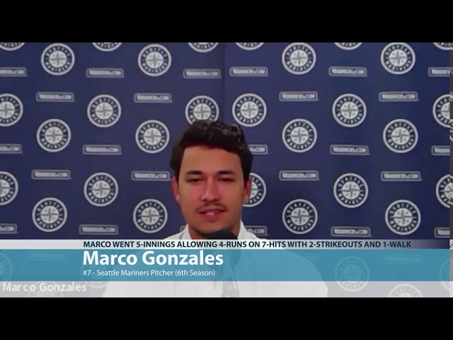 Marco Gonzales on Texas Loss 2020-08-12