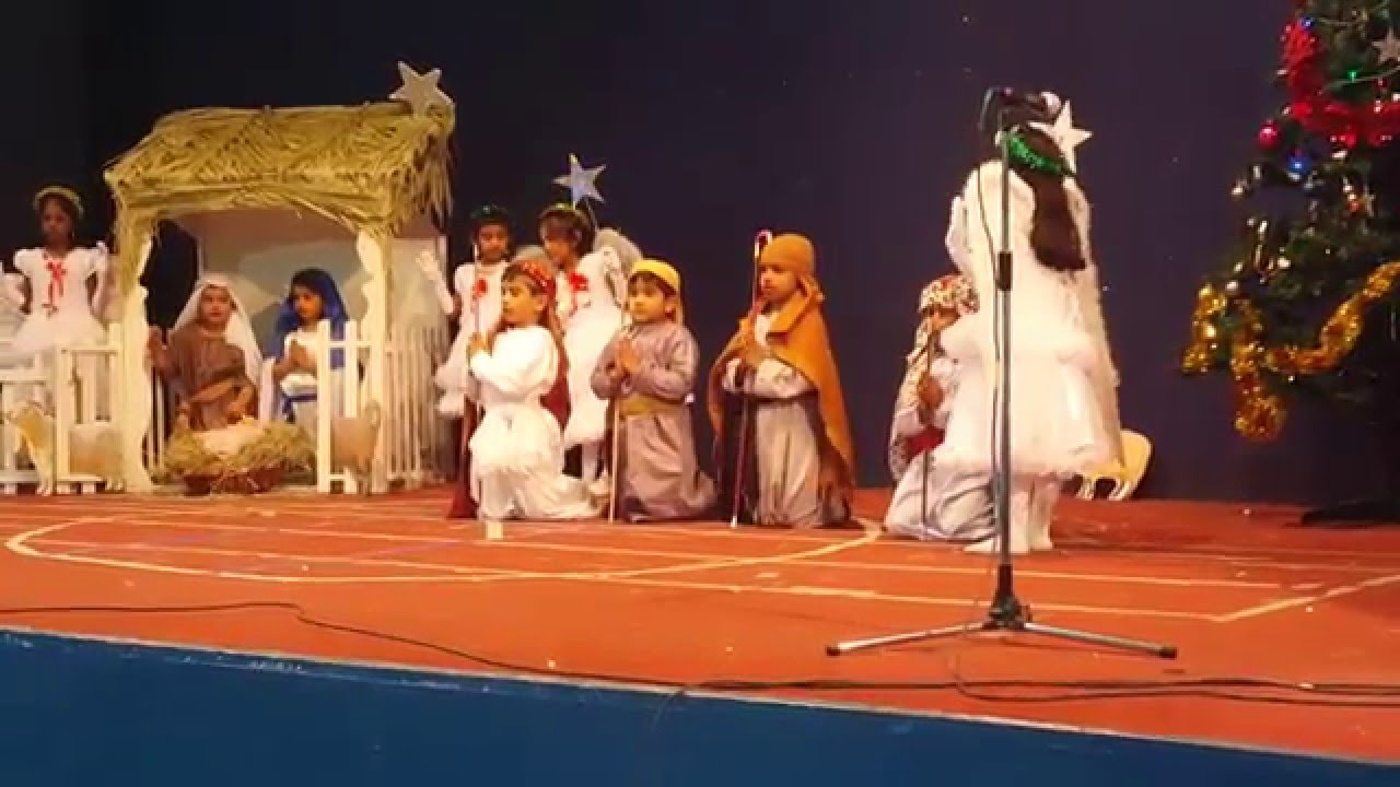 Indian School Muscat ,Std.1T Section- Christmas Assembly ...