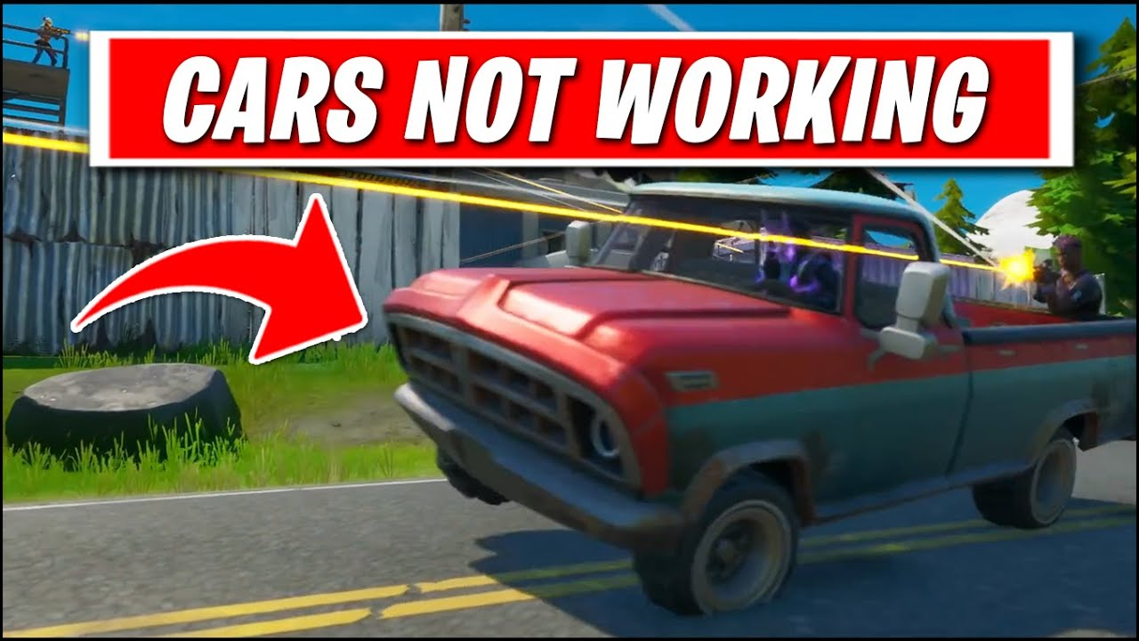 How To Drive A Car In Fortnite Season 3 You Can T Cars Not