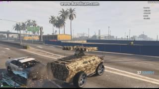 GTA5 APCで暴れるwミサイルがーw