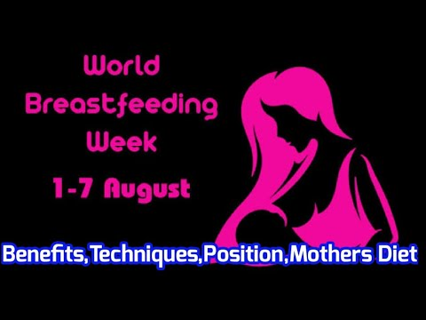 World Breastfeeding Week 2020 Breastfeeding Techniques In Tamil