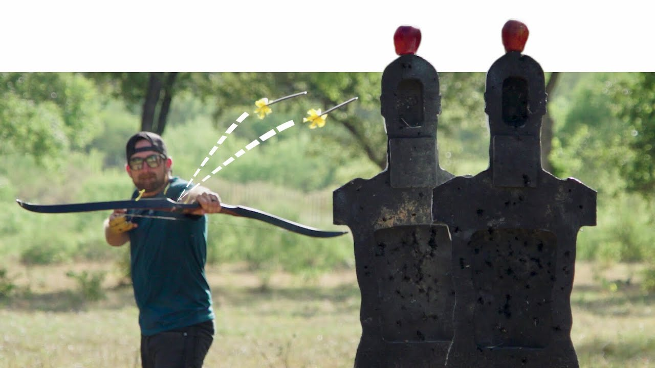 Archery Trick Shots 2 | Dude Perfect by Dude Perfect