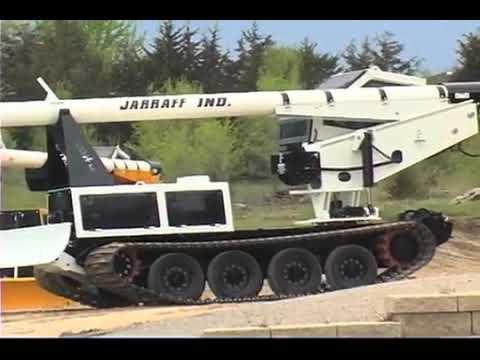 Jarraff Operator Cab: Driving & Steering - Track Model
