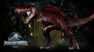 Jurassic World 2 - Spinosaurus-Rex Hybrid