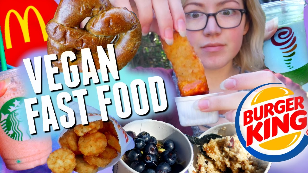Fast Food Vegan Hacks