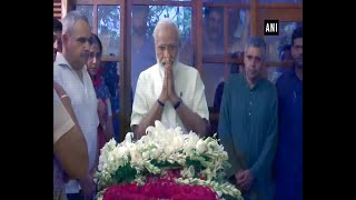 'Deeply saddened': PM Modi pays last respects to Sheila Dikshit