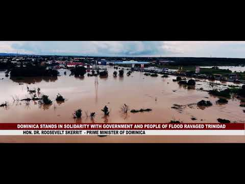 DOMINICA STANDS IN SOLIDARITY WITH GOVERNMENT AND PEOPLE OF FLOOD RAVAGED TRINIDAD