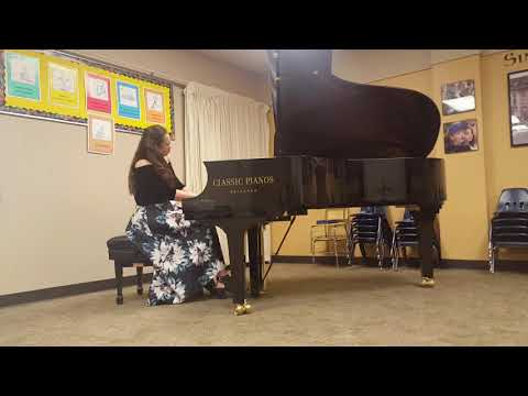 Emily Huang plays Chopin Ballade 3 at NW Chopin Competition