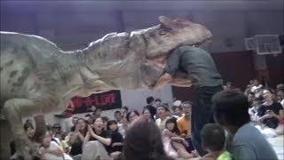 「DINO A LIVE」 アロサウルス襲来 13時@第一日野小学校アリーナ