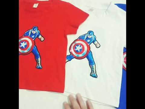 idb-857791gf방수 아동복 순면 캐릭터 반팔 티 티셔츠 스파이더맨