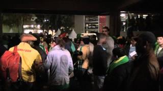 【2010 FIFA WORLD CUP】南アフリカの人達も応援してくれました