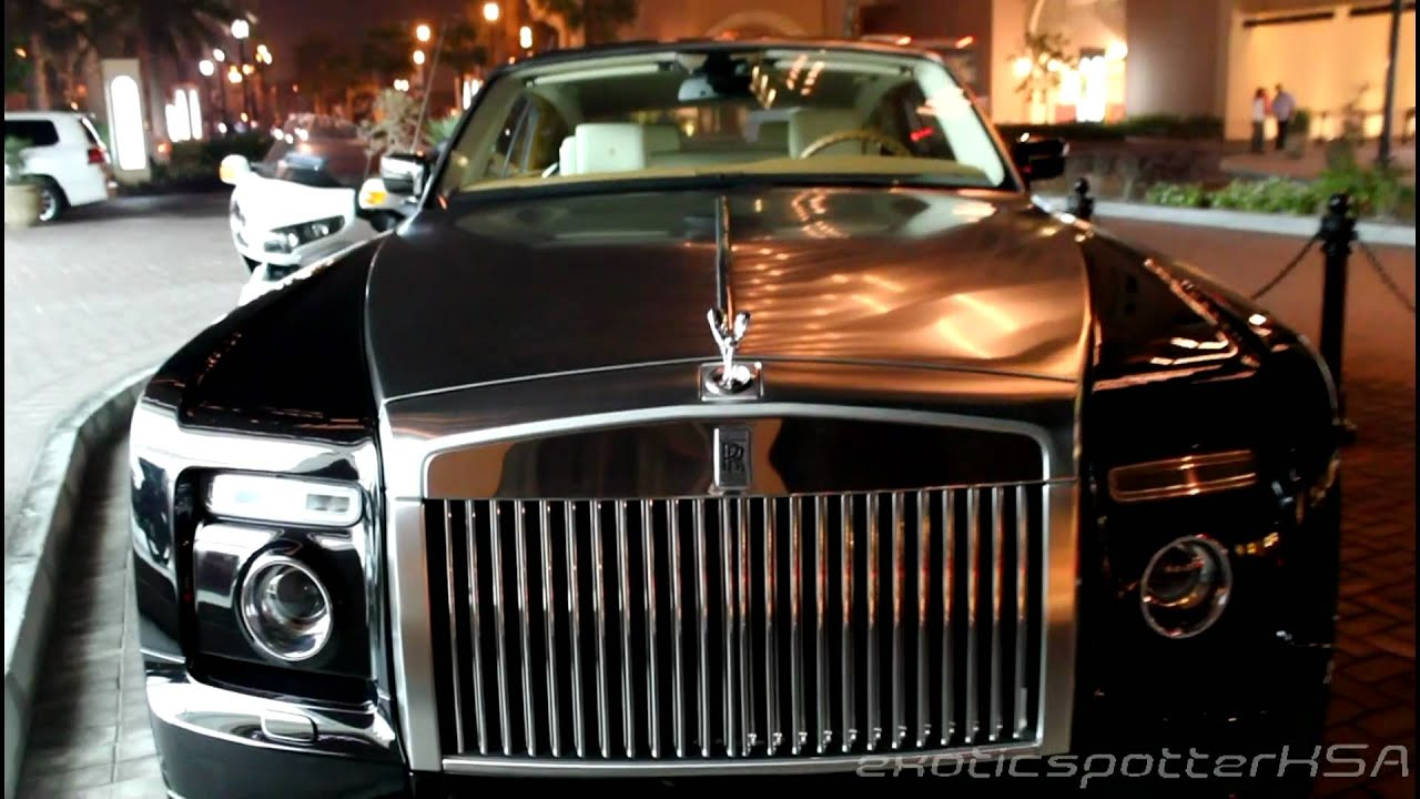 Rolls Royce Phantom Drophead Coupe Qatar 1080p HD