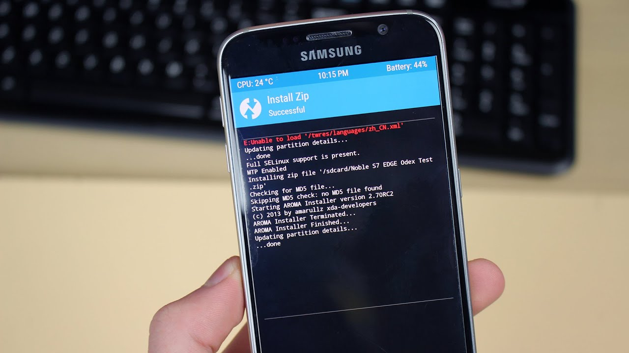 Samsung Galaxy S7 Edge ROM Port For Galaxy S6 & S6 Edge (How To Install)