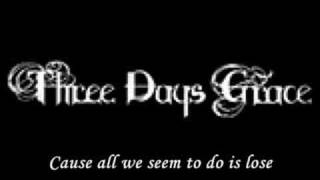 now or never three days grace with lyrics