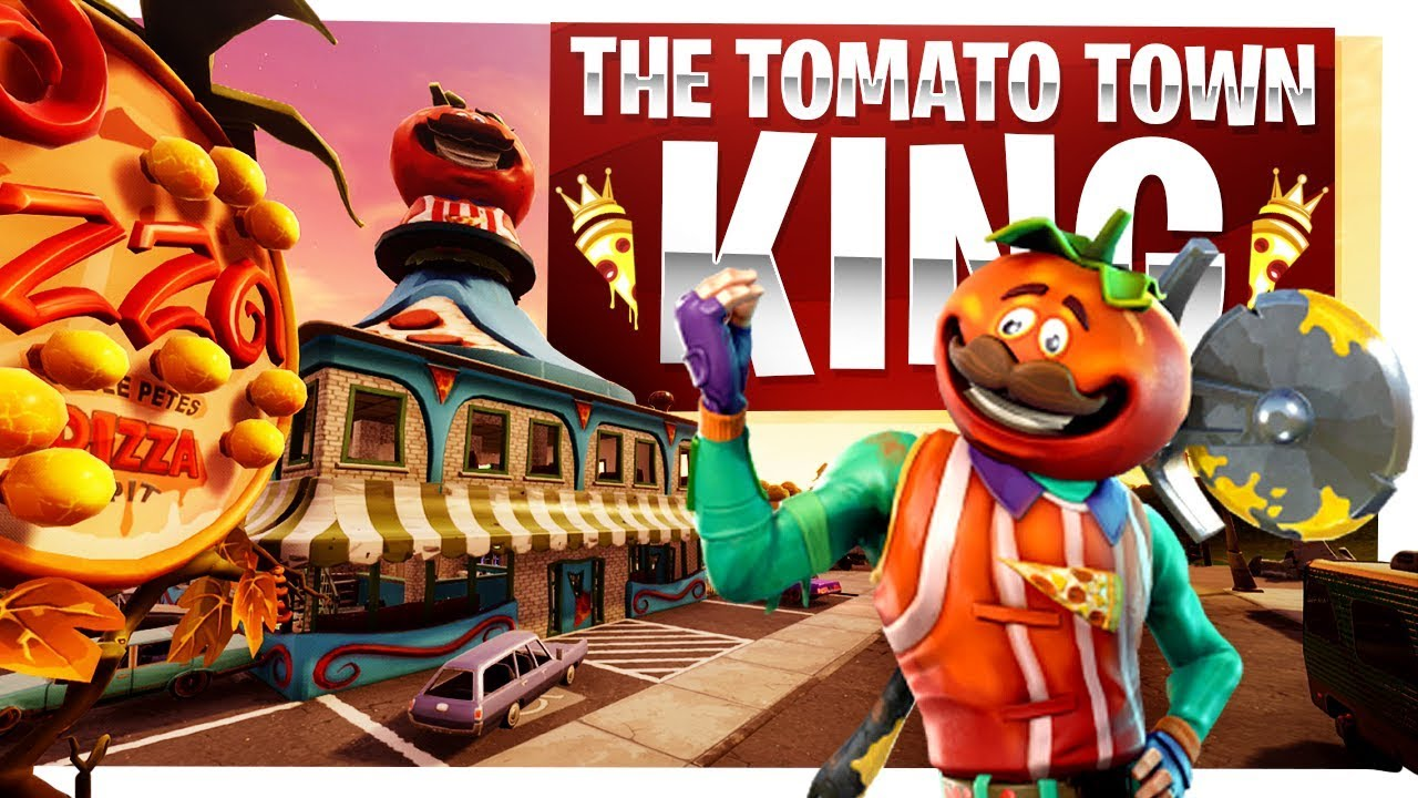 The King Of Tomato Town   New Tomatohead Skin   Fortnite Battle Royale  Gameplay