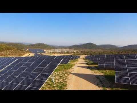 Parc solaire Verrerie dans le Var, l'un des plus puissants de France