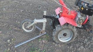 Плоскорез для мотоблока. захват 1 метр-Homemade cultivator