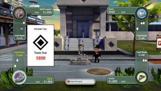 Monopoly Streets Xbox360   Part 2   720p HD Gameplay