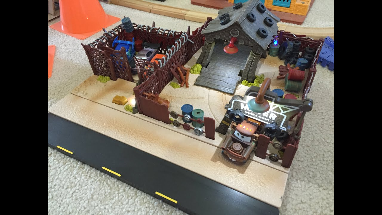 Mattel Pixar Cars 2016 Precision Series Tow Mater Towing & Salvage ...