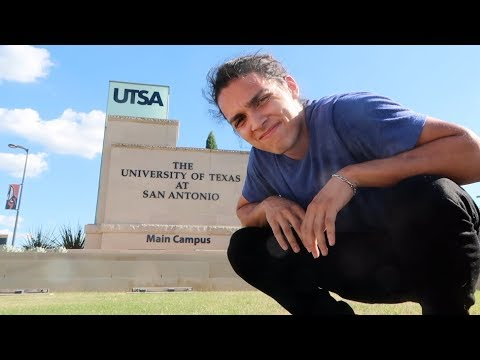 FIRST DAY OF SCHOOL! | UTSA