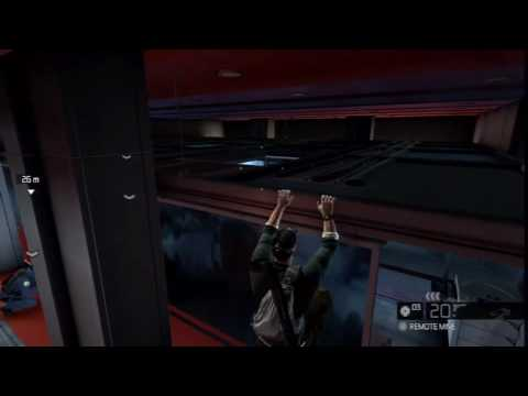 Splinter Cell: Conviction UK Acrobatic Navigation Gameplay HD