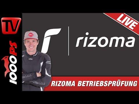 LIVE - RIZOMA Betriebsprüfung - Design - Entwicklung - Produktion - Motorrad Zubehör