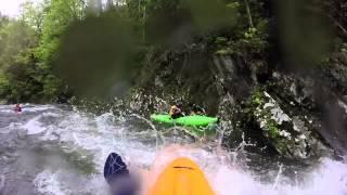 Kayaking the Upper Nantahala. NOC Spring Fling. Saturday release, April 2015
