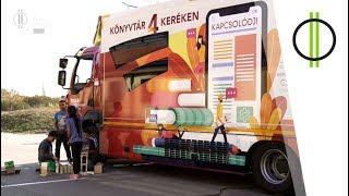 Könyvtárbusz – kamionban
