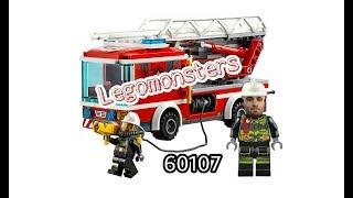 legomonsters обзор lego city 60107 пожарный автомобиль с лестницей 60107,