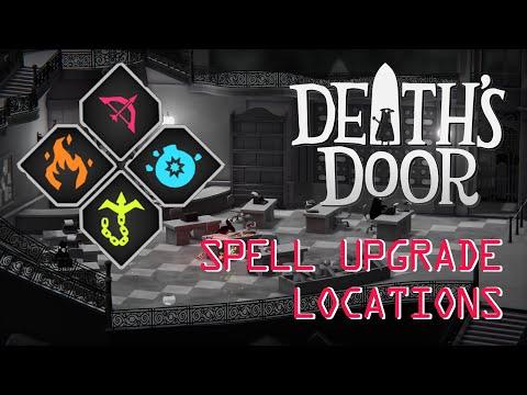 Death's Door | How to get All Spell's Upgrade in under 15 minutes |