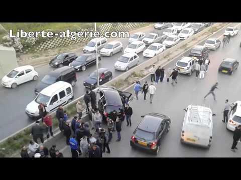 Accident de route à Ouled Fayet (Alger), le 11 mars 2015