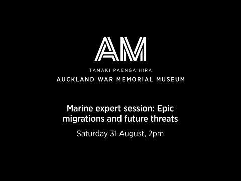 Marine expert session: Epic migrations and future threats