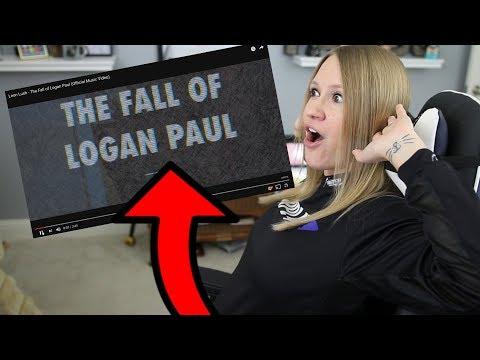 Leon Lush - The Fall of Logan Paul   My Reaction