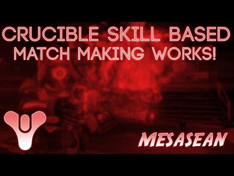 destiny matchmaking skill based