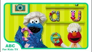 Sesame Street Alphabet Kitchen l Top Best Educational Apps For Kids l ABC For Kids TV