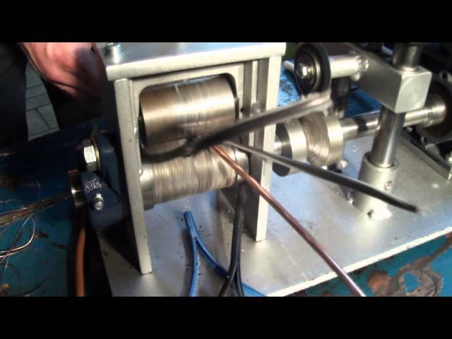 Kabelschälmaschine bis Ø 50 mm, Kabelabisoliermaschine, Kupferschrott, Milberry