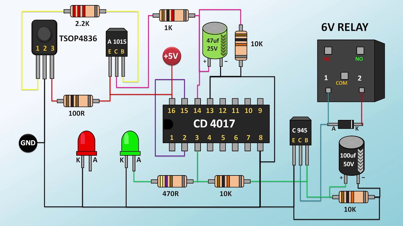 remote spot light wiring diagram wiring diagramhow to make remote switch part 2 youtube remote spot [ 1280 x 720 Pixel ]