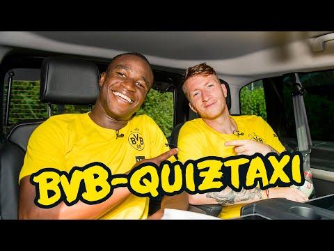 BVB Quiztaxi in Bad Ragaz 2021 | Part 1 with Haaland, Reus, Moukoko & Co.!