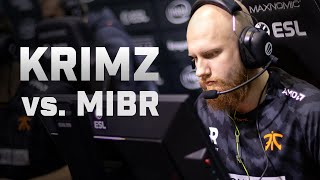 Record-breaker - KRIMZ's 47 frags vs. MIBR (ESL Pro League Season 10 Finals)