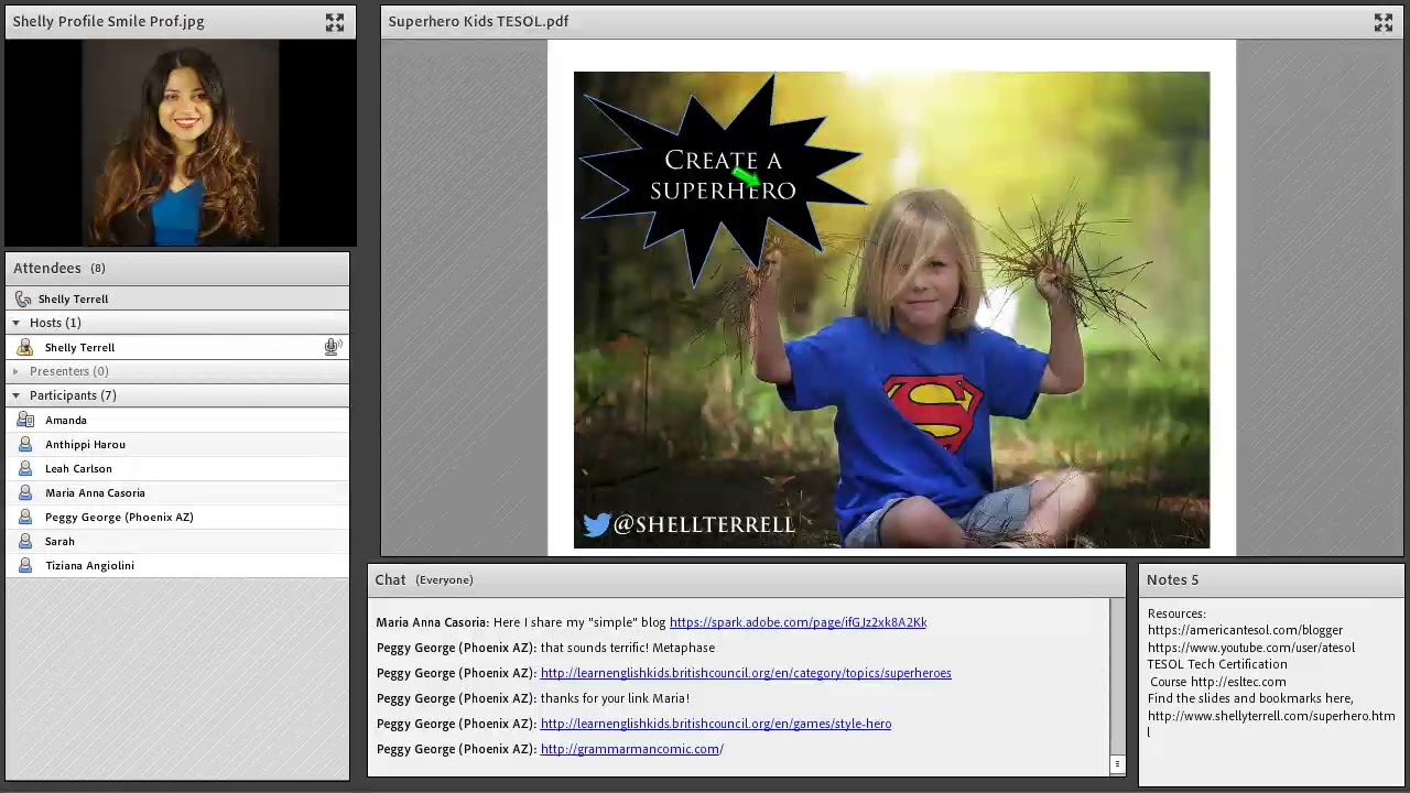Superhero Activities & Resources for Young English Learners, American TESOL  webinar
