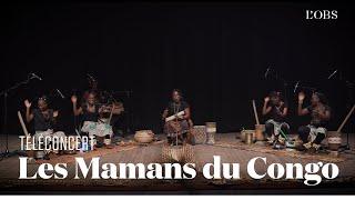 """Les Mamans du Congo - """"Bordel de Rap"""" (téléconcert exclusif pour """"l'Obs"""")"""
