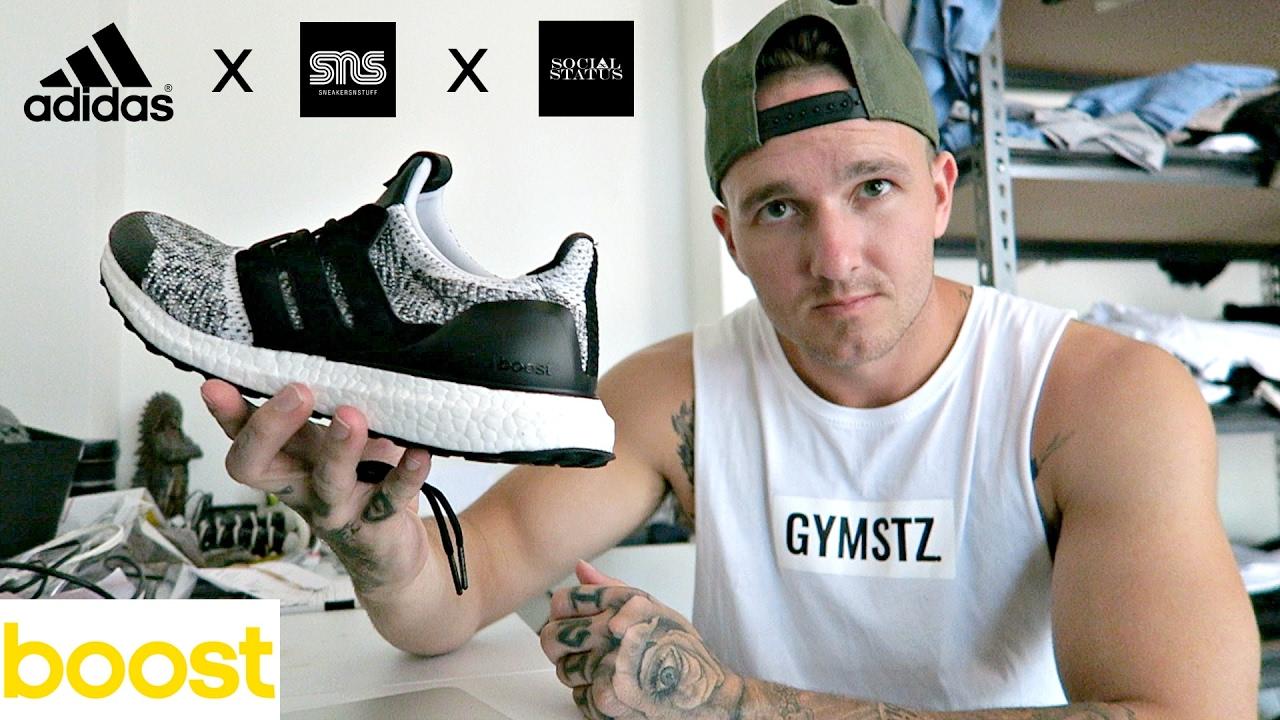 c31e9719a8b My Adidas Collection + Adidas SnS x Social Status Ultraboost ...